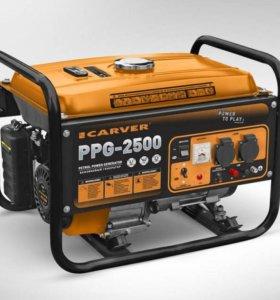Генератор бензиновый CARVER PPG- 2500