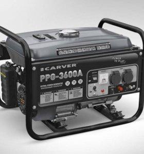 Генератор бензиновый CARVER PPG- 3600А
