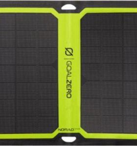 Новая солнечная панель Nomad 13. Доставка