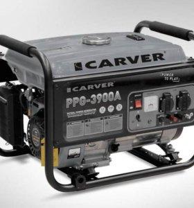 Генератор бензиновый CARVER PPG- 3900А