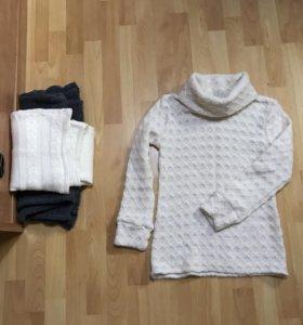 Две кофты и жилетка