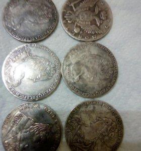 Копии редких монет царской России