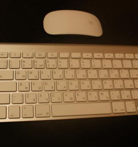 Apple - мышь и клавиатура