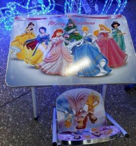 Стол+стул детские