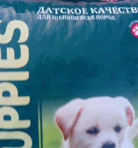 Качественный корм для щенков