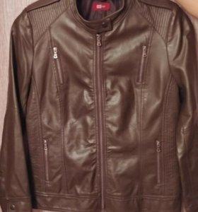 Женская кожаная куртка 48-50р-р