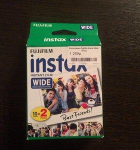 Фотопленка Fujifilm Instax Wide 20 шт.