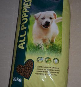 All Puppies корм для щенков.