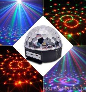 диско шары в наличии с пультом и флешкой