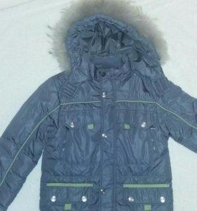 Куртка на мальчика .Зима.