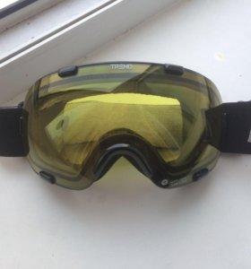 Горнолыжная маска-очки