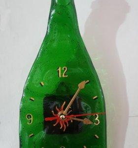 Часы-бутылка. Фьюзинг