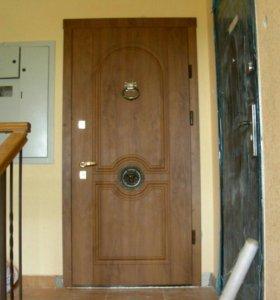 Установка только входных дверей