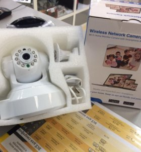 Домашняя видеокамера Wireless Network Camera