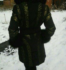 Пуховик зима.