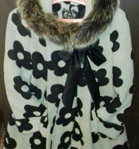 Пальто зимнее для будущих мам!