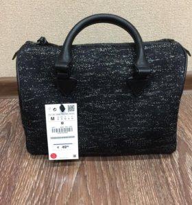 Новая сумка-боулинг Zara