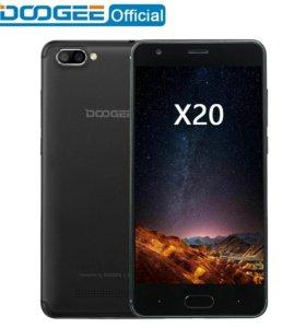 Новый смартфон Doogee X20 2/16гб