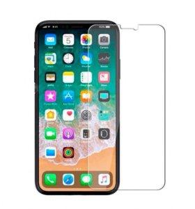 Защитное стекло на iPhone x (iPhone 10)