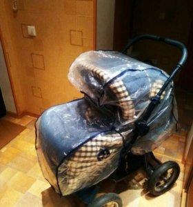 Детская коляска- трансформер (зима-лето)