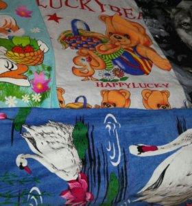 Полотенца пляжные новые