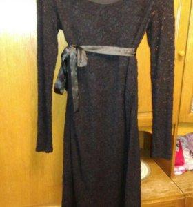 Новое вечернее платье для беременных