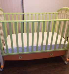 Детский гарнитур кроватка+комод Erbesi