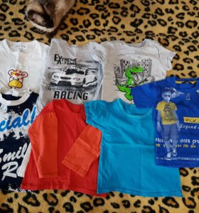 пакет футболки лонгосливы 92 р