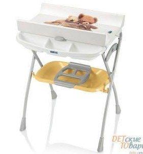 Детская ванночка с пеленальным столиком