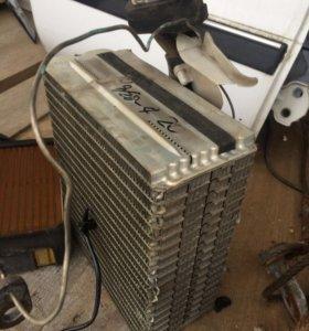 Радиатор кондиционера тойота креста