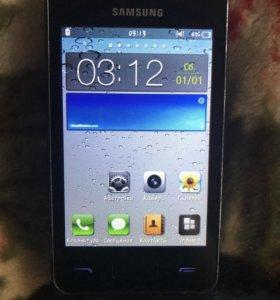 Смартфон Samsung Wave M GT-S7250D Metallic Silver