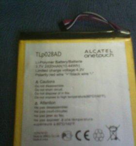 Батарея на планшет alcatel