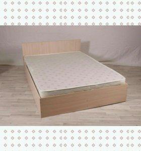Кровать с матрасом новая