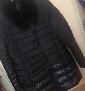 Зимнее пальто, пуховик .