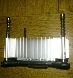 Радиатор для кулера, вентилятор