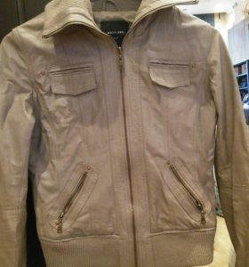 Натуральная Кожаная куртка 42