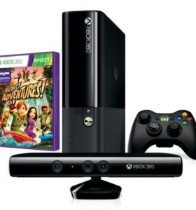 Xbox 360 E 250gb+kinect чипованный (прошитый)