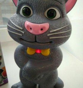 Говорящий кот интерактивная игрушка