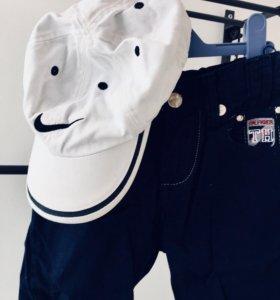 НОВЫЕ Бриджи Tommy Hilfiger и кепка Nike