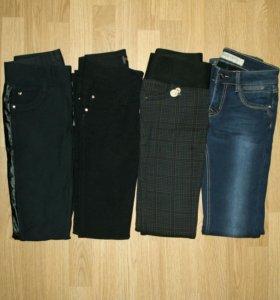 Теплые брюки и джинсы