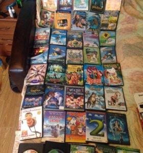 40 шт детских dvd дисков ( пакетом)