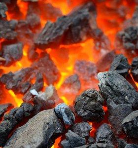 Уголь в мешках и навалом