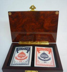 Подарок карты сувенирные для покера