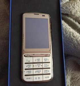 Nokia C3-01 Gold. Полный комплект