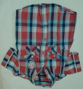 Рубашка для мальчика размер 80-92