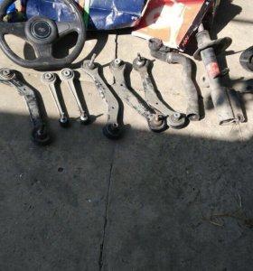 Рулевые наконечники и стойка передняя BMW X5