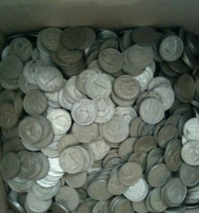 3 кг. монет 15 копеек