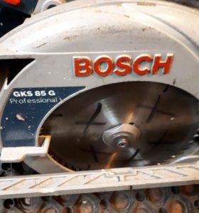 пила  BOSCH GKS 85 G Б/У