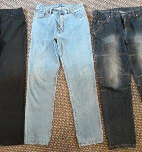 Джинсы и брюки размер 54 рост 183-187 см