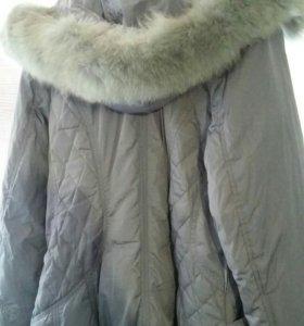 Зимний пуховик 48-50